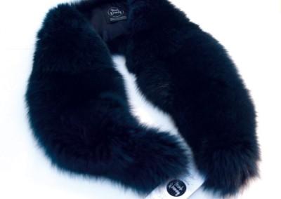 Blue Fox Fur Collar, Taylor