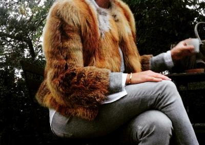 fox fur jacket, Victoria