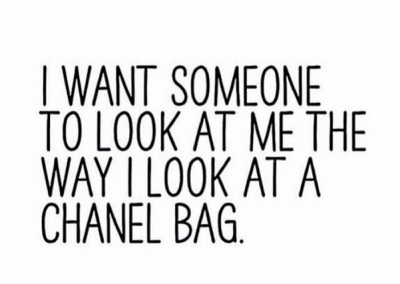 I want someone...