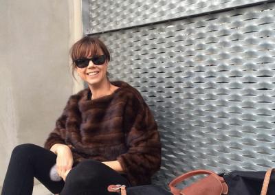 Mink pullover, Audrey