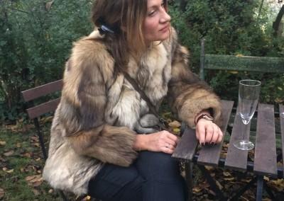 coyote fur jacket
