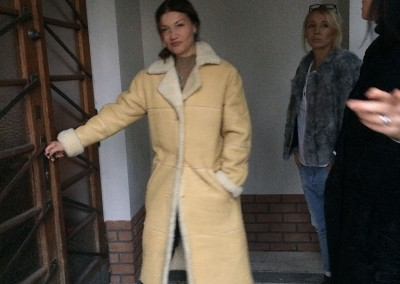 Velour Coat, Jelena